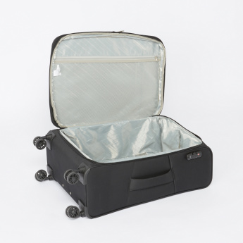 Duchini Textured Soft Case Trolley Bag with Combination Lock