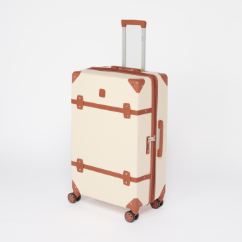 Elle Hard Case Trolley Luggage Bag with Zip Closure-28 inches