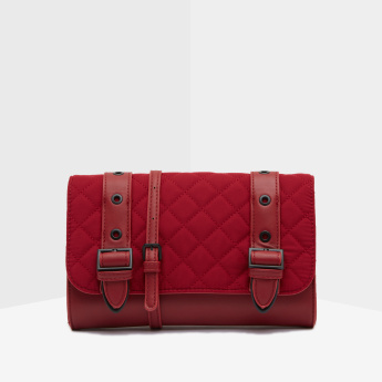 Celeste Quilted Satchel Bag with Shoulder Strap