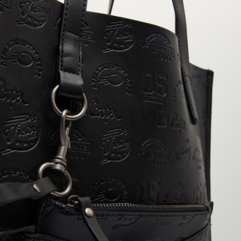 Lee Cooper Embossed Tote Bag