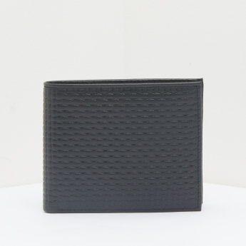 Duchini Textured Bi-Fold Wallet