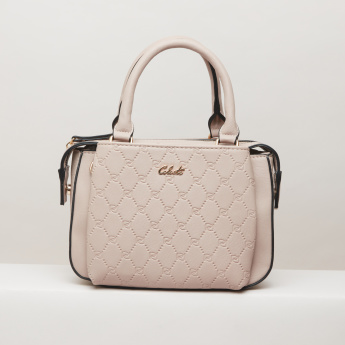 Celeste Embossed Mini Tote Bag