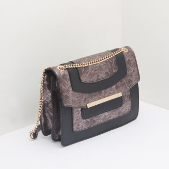 ELLE Satchel Bag with Magnetic Snap Closure