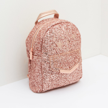 ELLE Glitter Backpack