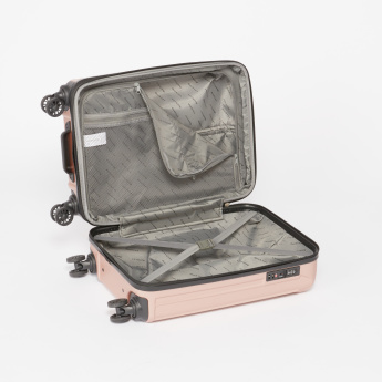Duchini 360 Spinner Textured Hard Case Trolley Bag