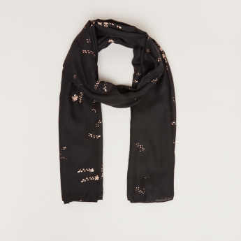 Celeste Scarf with Prints