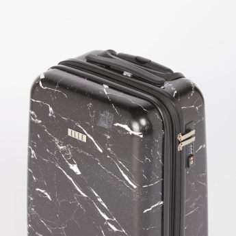 ELLE Printed Hard Case Trolley Bag with Combination Lock