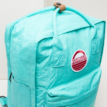 Skechers Backpack with Twin Handles and Zip Closure