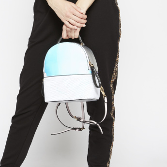 Missy Backpack with Perforated Compartment
