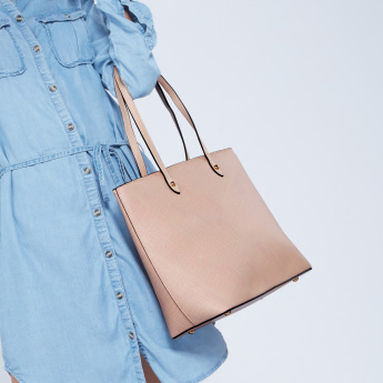 Missy Tote Bag with Zip Closure