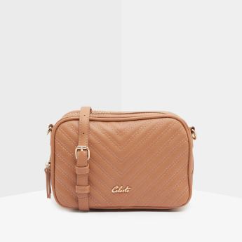 Celeste Quilted Crossbody Bag