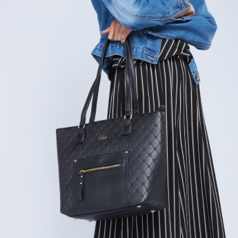 Celeste Textured Tote Bag