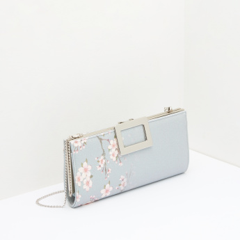 Celeste Floral Printed Clutch Bag