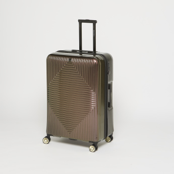 Duchini Textured Hard Case Luggage Bag