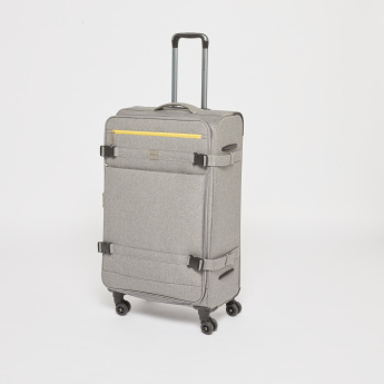 Duchini Soft Case Trolley Bag with 360 Degree Spinner Wheels