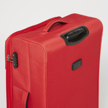 Duchini Soft Case Luggage Bag with 360-Degree Spinner Wheels