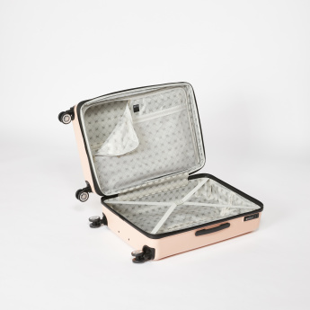 ELLE 360 Spinner Textured Hard Case Trolley Bag