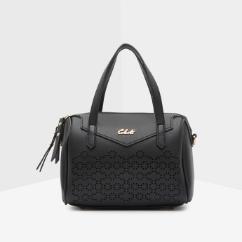 Celeste Tote Bag with Laser Cutouts