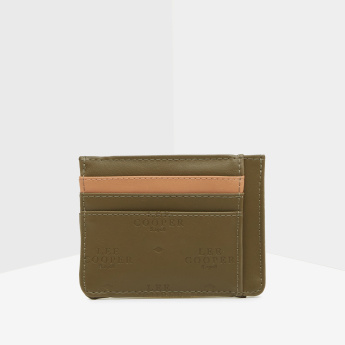 Lee Cooper Embossed Cardholder