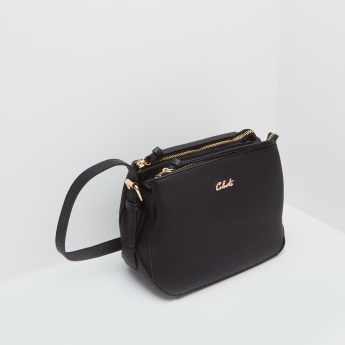 Celeste Textured Shoulder Bag