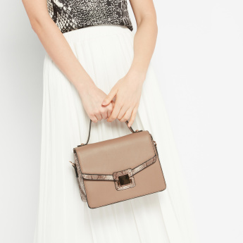 Celeste Textured Crossbody Bag with Sling Strap
