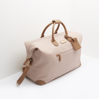 ELLE Duffle Bag with Crossbody Straps and Twin Strap Handles