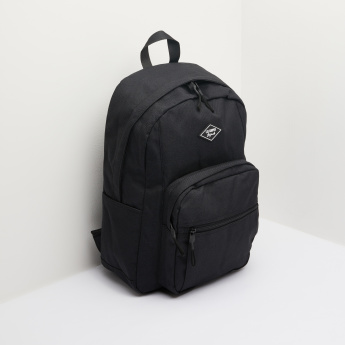 Lee Cooper Plain Backpack with Adjustable Shoulder Straps