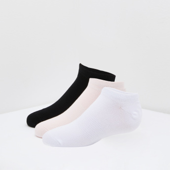ANTA Plain Ankle Length Socks - Set of 3