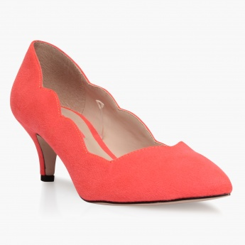 Paprika Mid Heel Shoes