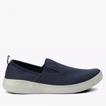 Dash Mesh Detail Slip-On Walking Shoes