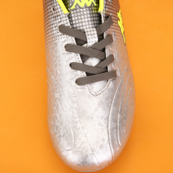 e31fe367020 Kappa Printed Lace-Up Football Shoes | Grey | Football