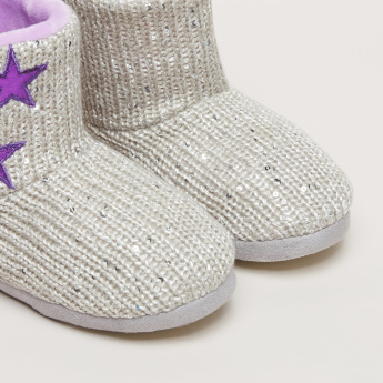 Textured and Star Printed Indoor Slides