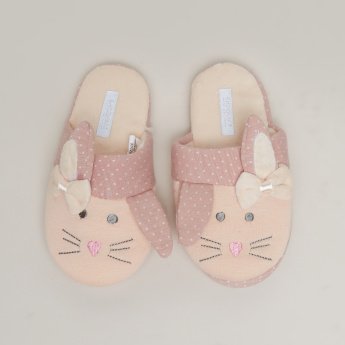 Bunny Applique Slides