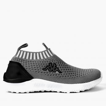 Kappa Textured Slip-On Shoes