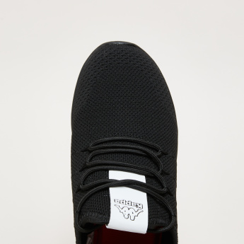 Kappa Textured Low Ankle Sneakers