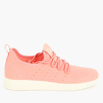 Kappa Mesh Lace-Up Sneakers