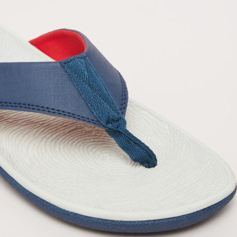Kappa Flip Flops with Logo Detail