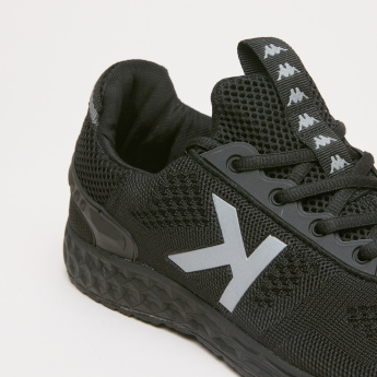 Kappa Walking Shoes with Logo Printed Quarter
