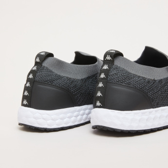 Kappa Mesh Slip-On Walking Shoes