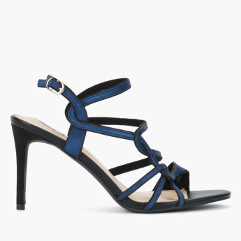 Elle Multi-Strap Stiletto with Buckle Closure