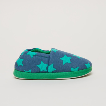 Star Printed Indoor Shoes