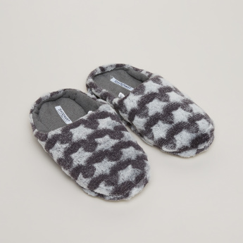 Star Printed and Textured Indoor Slides