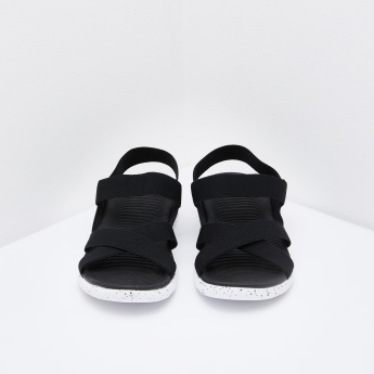 Kappa Cross Strap Floaters with Slingback