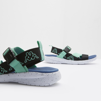 Kappa Printed Floaters with Buckle Closure