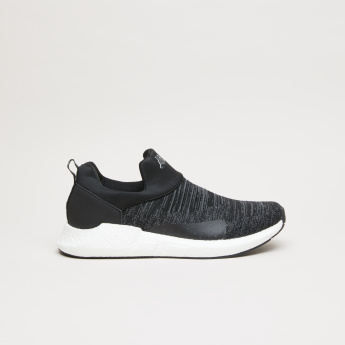 Kappa Textured Slip-On Walking Shoes
