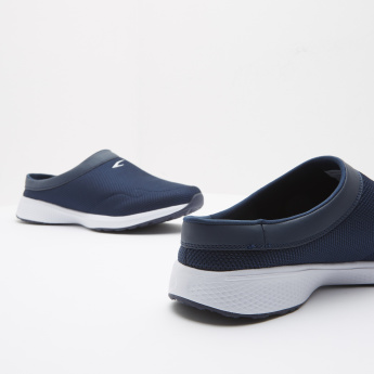 Textured Walking Shoes with Slip-On Closure