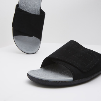 Kappa Slip On Slides with Adjustable Midsole Strap