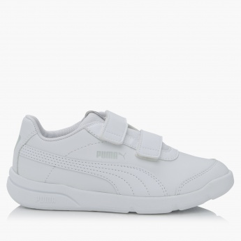 Puma Shoes with Hook and Loop Closure