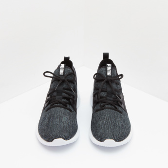 Puma Textured Low-Top Lace-Up Shoes