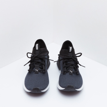 PUMA Running Shoes with Lace-Up Closure